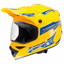 Capacete Motocross Protork Liberty Mx Vision C/ Viseira