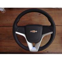 Volante Esportivo Cruze Prata P/ Astra,meriva,corsa, Vectra