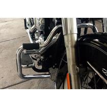 Protetor Motor Harley Softail Deluxe Moustache Customer Crom