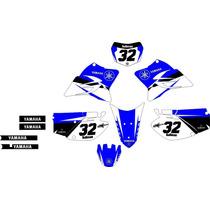 Kit Adesivo Grafico Plotagem Moto Trilha Ttr230 2005-2016 M2