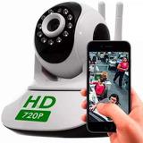 Câmera Ip Robô P2p Wireless Wifi Sem Fio 720hd  Com Áudio