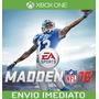 Madden Nfl 16 - Xbox One Xone - Envio Imediato!