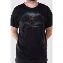 Camiseta Masculina Batman Vs Superman Dawn Of Justice Bandup
