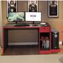 Mesa Para Computador Desk Game Drx 3000 Siena Móveis Jhwt