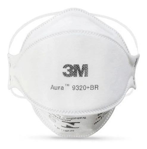 10 Máscaras 3m Aura 9320 +br Pff2 N95 Respirador Sem Válvula