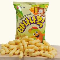 Salgadinho Coreano De Milho Sabor Banana Kick