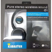 Fone Bluetooth Wireless Q1-fm Radio-micro Sd-microfone