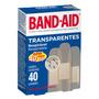 Curativo Band Aid Transparente Leve 40 Pague 30