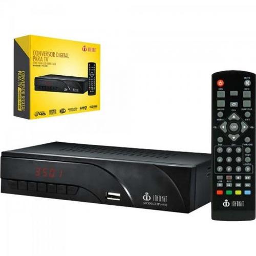 Conversor Digital Para Tv Com Visor Led Hdmi / usb Itv - 400