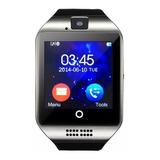 Relogio Smart Watch Q18 Sport Bluetooth Celular Cam Chip Sd