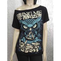 Camiseta Feminina De Banda - Bring Me The Horizon - Modelo 3