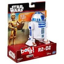 Boneco Star Wars Bop It R2d2 Brinquedo Jogo Gire Puxe Hasbro