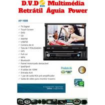 Dvd Player Multimidia Retratil 7 Poligadas Com Tv/gps/bt