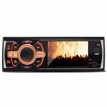 Dvd Player Hurricane Hrd 3560 Tela 3,4 Toca Cd Usb Mp3 Radio
