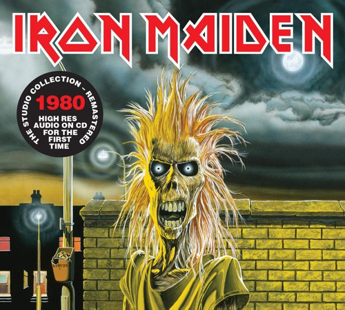 Cd Iron Maiden Iron Maiden (1980) Remastered