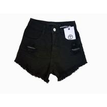 2a52564e9 Feminino Destroyed Shorts Jeans com os melhores preços do Brasil ...