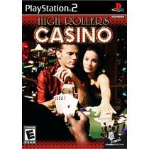 Jogo Novo Lacrado High Rollers Casino Para Playstation 2