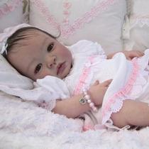 Bebê Reborn Bruna Boneca Linda Detalhes Reais Muito Barata