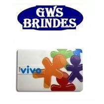 50 Peças - Pen Drive Cartão Personalizado ( Pen Card ) 4gb