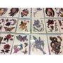 12 Cartelas De Tatuagem Temporária Feminina Colorida