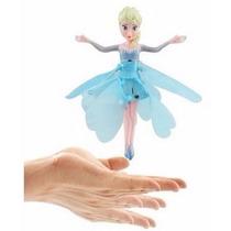 Boneca Fada Voadora Elsa Frozen Voa Pronta Entrega
