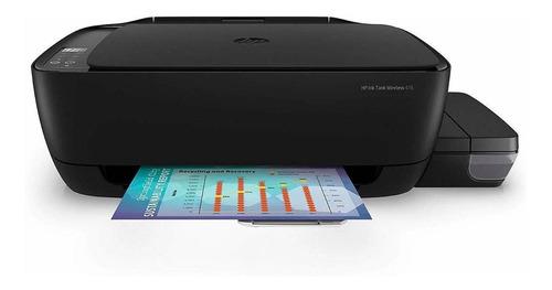 Impressora A Cor Multifuncional Hp Ink Tank Wireless 416 Com Wi-fi 110v/220v Preta