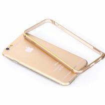 Capa Bumper Metal Aluminio Iphone 6 6s Plus 5,5 + Pel Vidro
