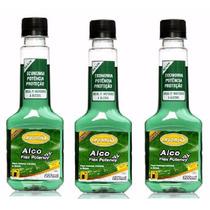 3 Aditivo P Combustivel Motor A Alcoo Flex Potency 3x 200ml
