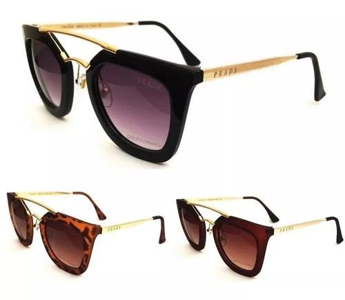 d00290be25297 Oculos De Sol Feminino Geometric Premium Cores Variadas