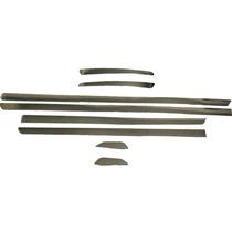 Kit Frisos Cromado Lateral E Parachoque Palio 97/13 4 Portas