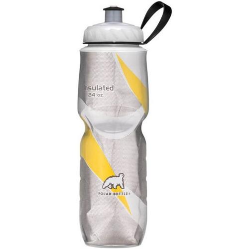 Garrafa Térmica Polar Bottle Pattern 710 Ml - Preta