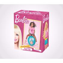 Brinquedo Pula Pula Barbie De Vinil Lider Brinquedos 535