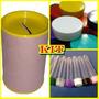 Kit 40 Latinhas Plastica + 70 Tubetes + 35 Cofrinhos