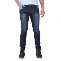 Calça Jeans Masculina Barata Skinny 36 Ao 46 Algodão Lycra