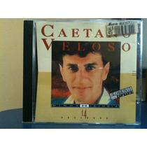 Cd Caetano Veloso Minha Historia 14 Sucessos Usado