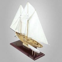 Veleiro Navio Madeira Benjamin W. Latham 1902 Frete Grats
