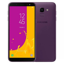 Celular Samsung J6 Galaxy Violeta 64gb Tela 5.6'' Tv Digital