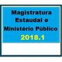Magistratura Estadual E M. Público 2018 Dvd Vídeo + Apostila