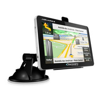Gps Automotivo Tela 4.3 Touch Radar Mp3 Foto Video Navegador