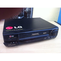 Video Cassete Vhs Lg 6 Cabeças Lg- 87sb