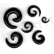 Alargador Caracol Espiral 2, 3, 4, 5, 6, 8, 9, 12, 14 E 16mm