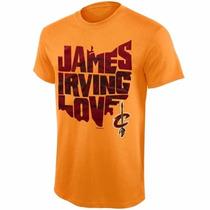Camiseta Cleveland Cavaliers - Lebron James, Love E Irving