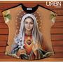 Camiseta Feminina T-shirt Sagrado Coração De Maria