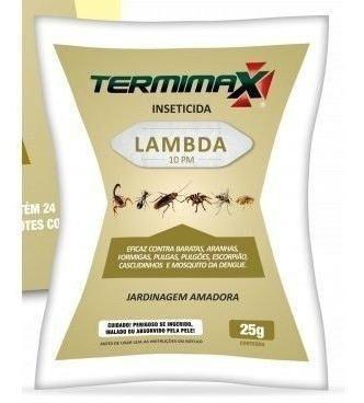 Inseticida Termimax Lambda 10pm 25g
