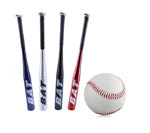 d75aed9d06 Taco De Baseball Em Aluminio 30 Polegadas + Bola