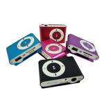 Mini Mp3 Mp4 Player Portátil Cabo Usb P2 Suporta 8gb Shuffle