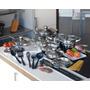 Conjunto De Cozinha Inox 18/10 - 30 Peças