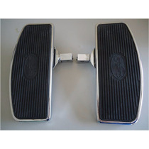 Pedaleira Plataforma Moto Custon Dianteira E Traseira