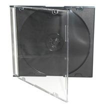 50 Caixas Acrilicas Slim Para Cd / Dvd - Coloridas