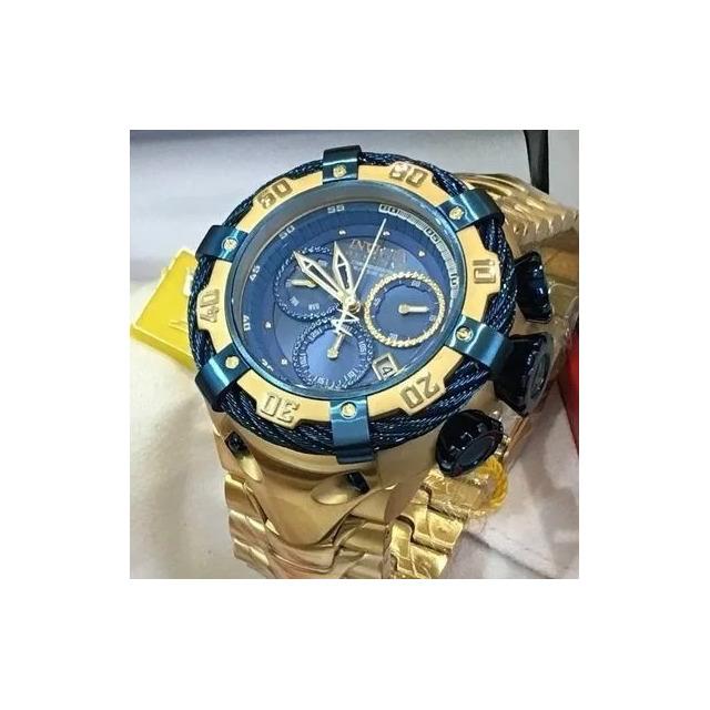 4e5cd33c1ff Relógio Eg9315 Invicta Thunderbolt 21361 Azul Dourado Oferta em ...